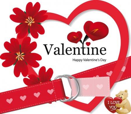 Векторный клипарт ко дню святого Валентина