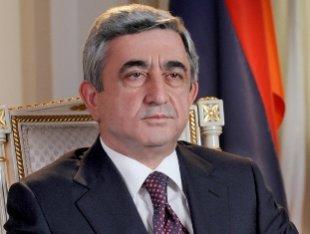 Серж Саргсян: Население Армении и Карабаха не желает возвращать Азербайджану ни сантиметра земли